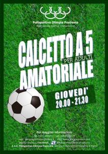 CALCETTO A 5